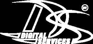 Digital services logo wit